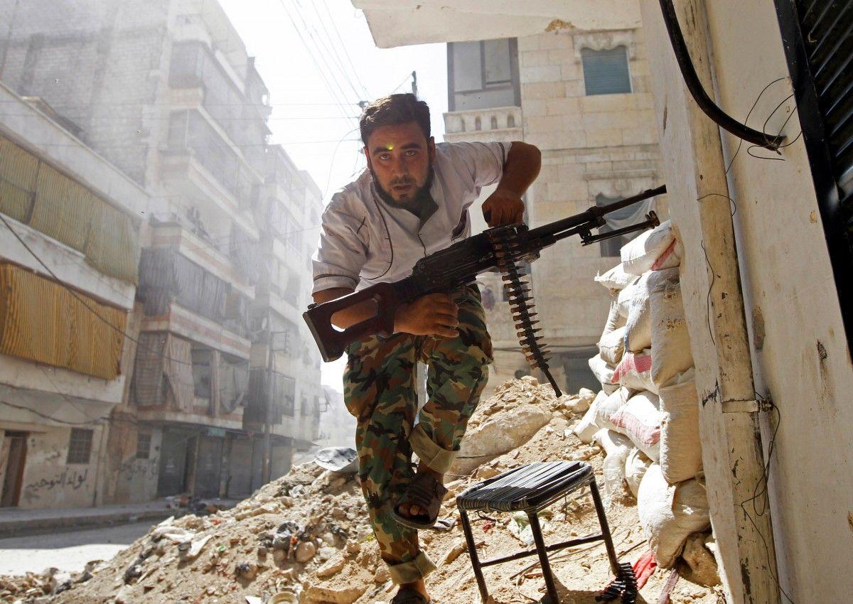 Боевики возобновили боевые действия вАлеппо