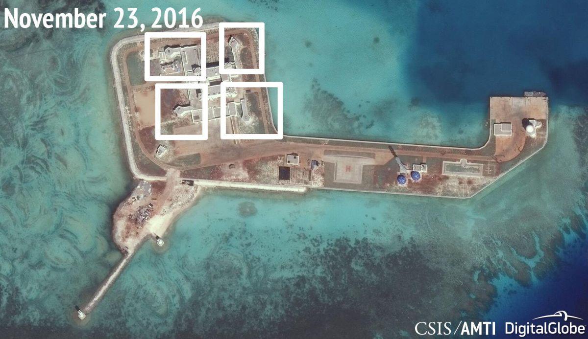 Объекты Китая вЮжно-Китайском море неявляются милитаризацией— МИД Китайская народная республика