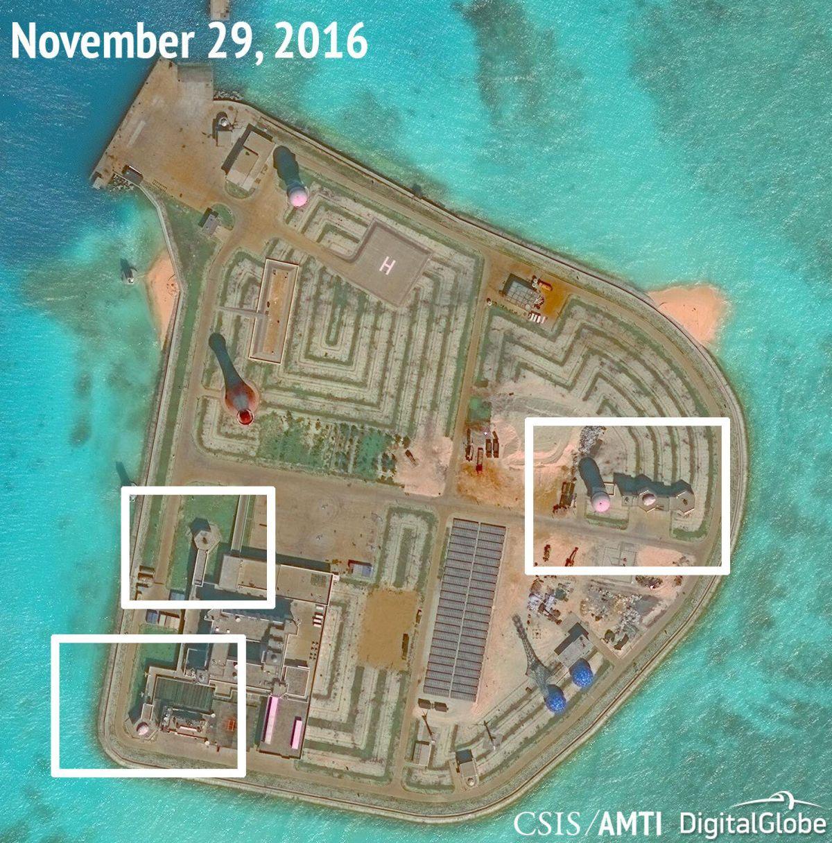 КНР усилил вооружение вЮжно-Китайском море