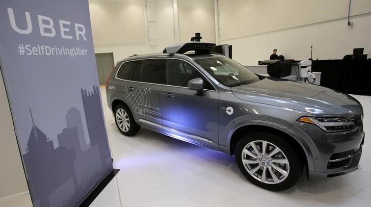 ВКалифорнии Uber испытывает беспилотные такси без разрешения властей
