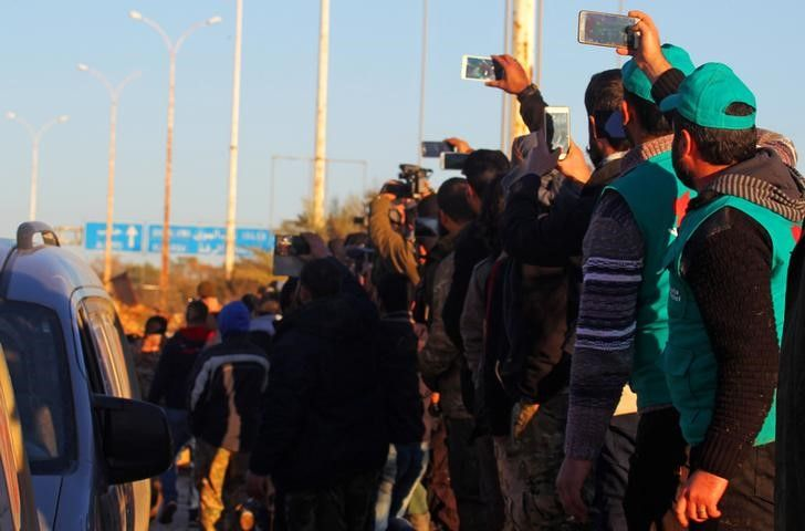 ВАлеппо снова сорвалась эвакуация гражданских лиц