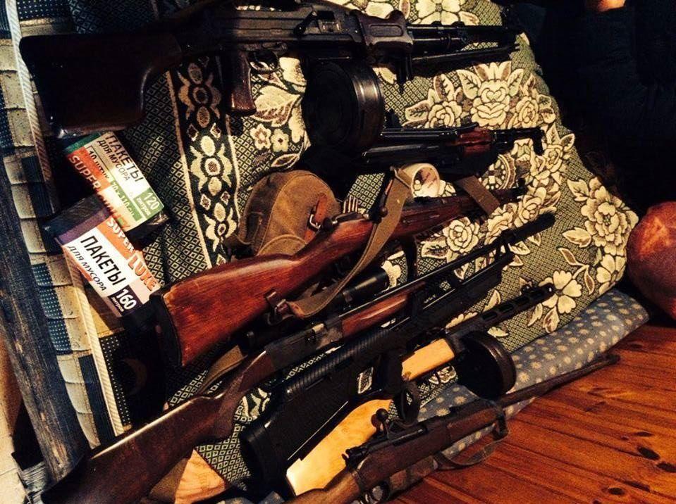 Виявлена оперативниками зброя не є зареєстрованою / od.gp.gov.ua