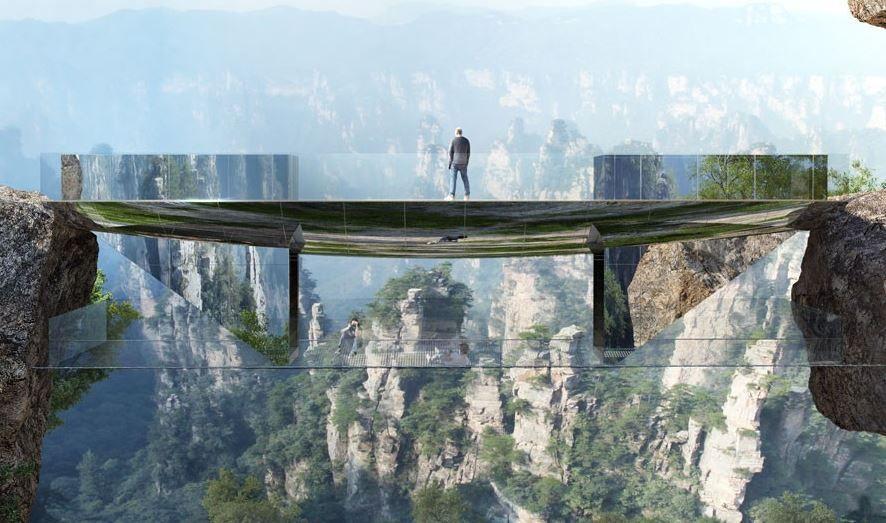 Вгорах Китая появится мост-невидимка