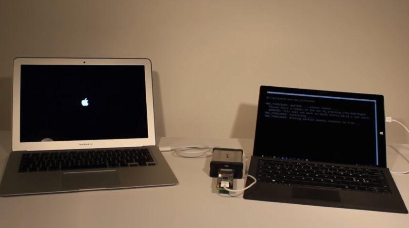 Устройство за $300 дает возможность похитить пароли наMac засчитанные секунды