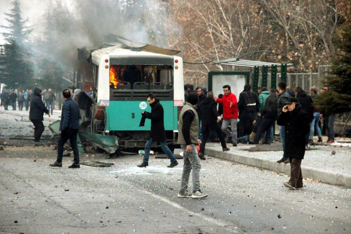 В итоге теракта вТурции погибли 13 человек