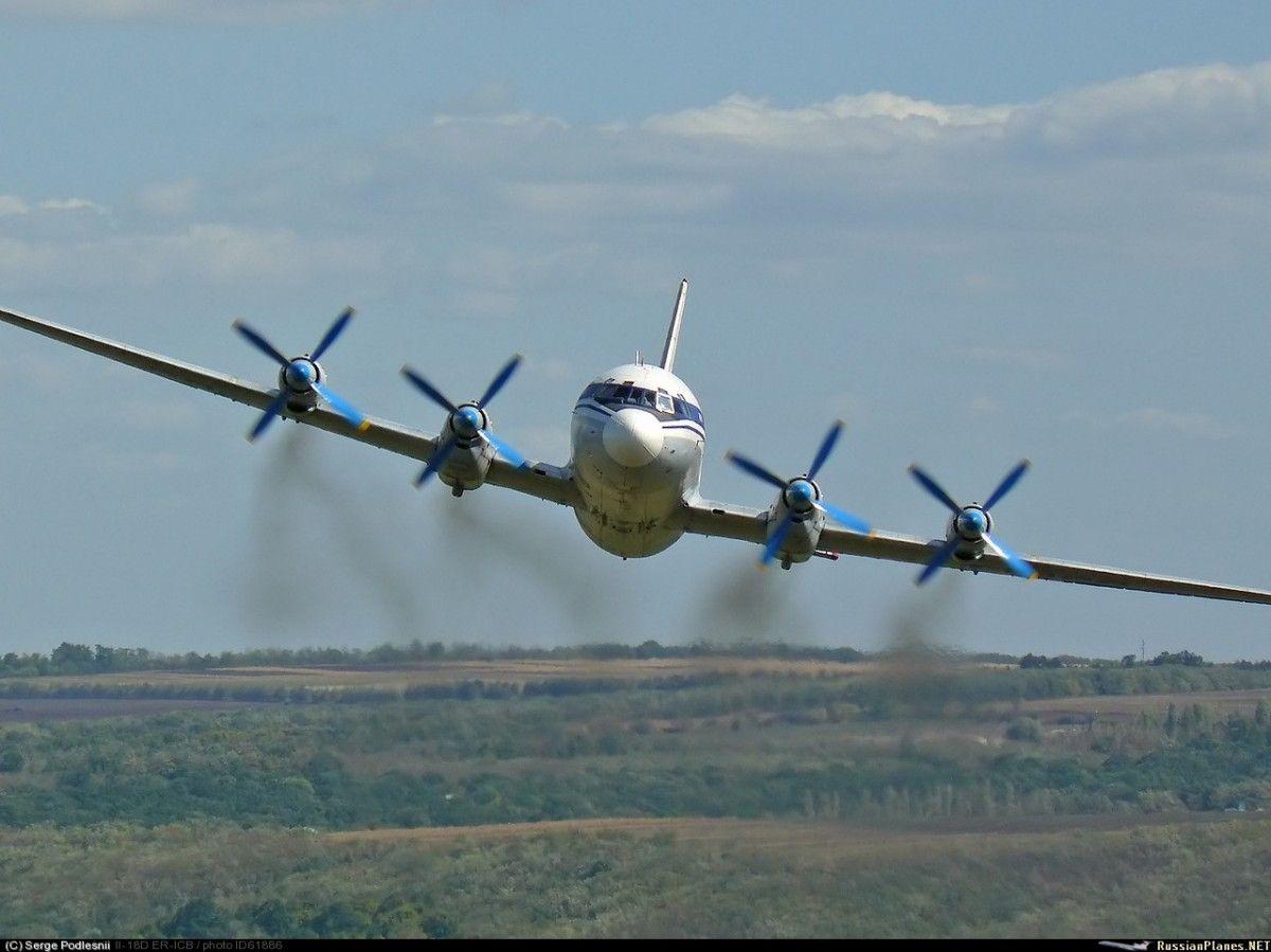 Ил-18 разбился / russianplanes.net