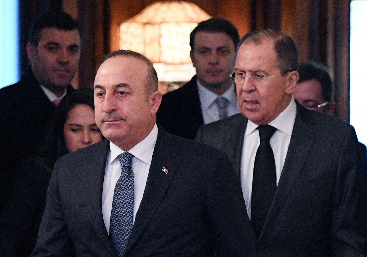 Сергій Лавров і Мевлют Чавушоглу / REUTERS