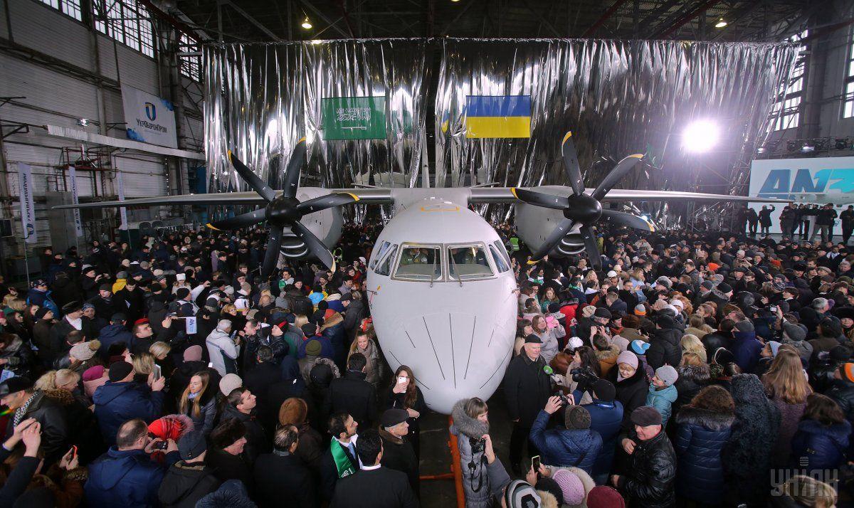 Крупнейший украинский авиапроизводитель нарастил прибыль в 4 раза