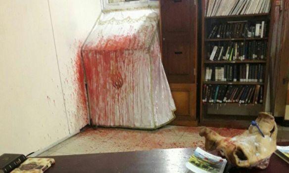 В милиции отреагировали на«кровавый» погром всинагоге Умани