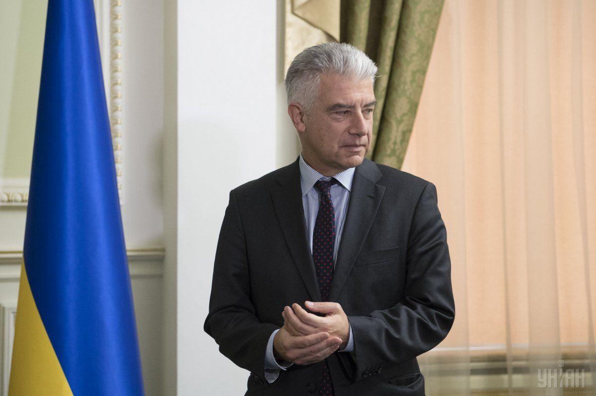 Райхельзазначив, что пока нет ответов относительно проведения выборов на Донбассе / фото УНИАН