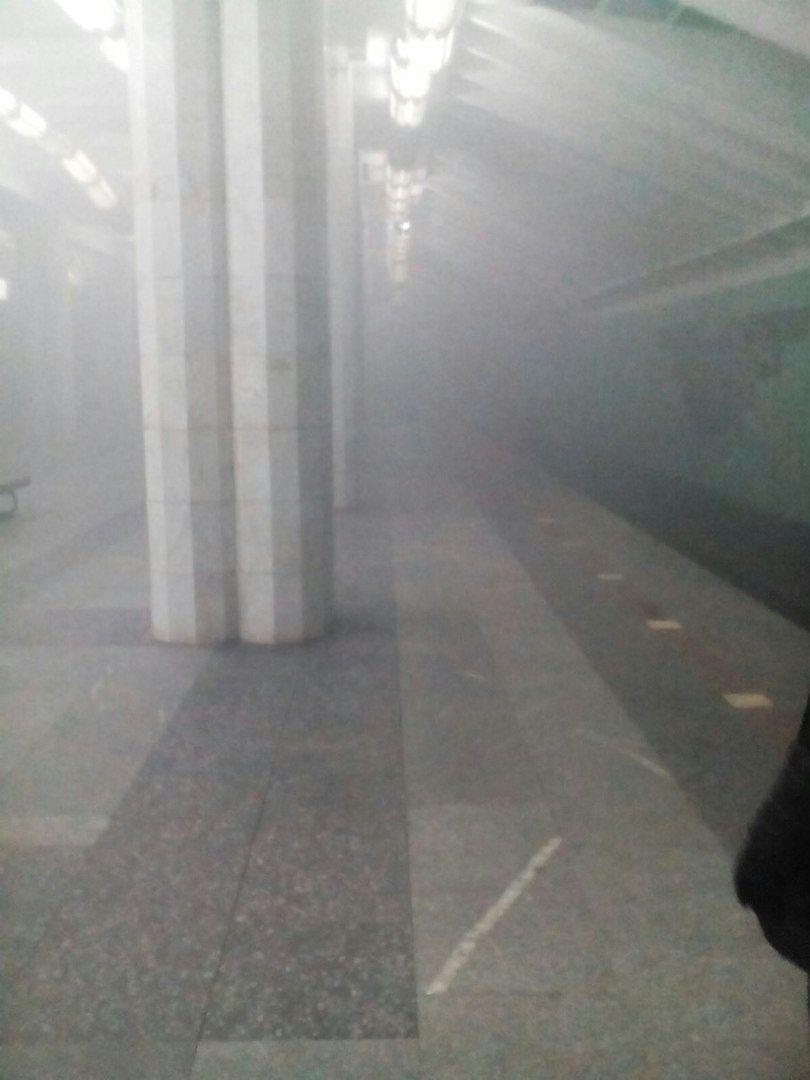 Дим нібито затягнула система вентиляції / vk.com/livekharkov