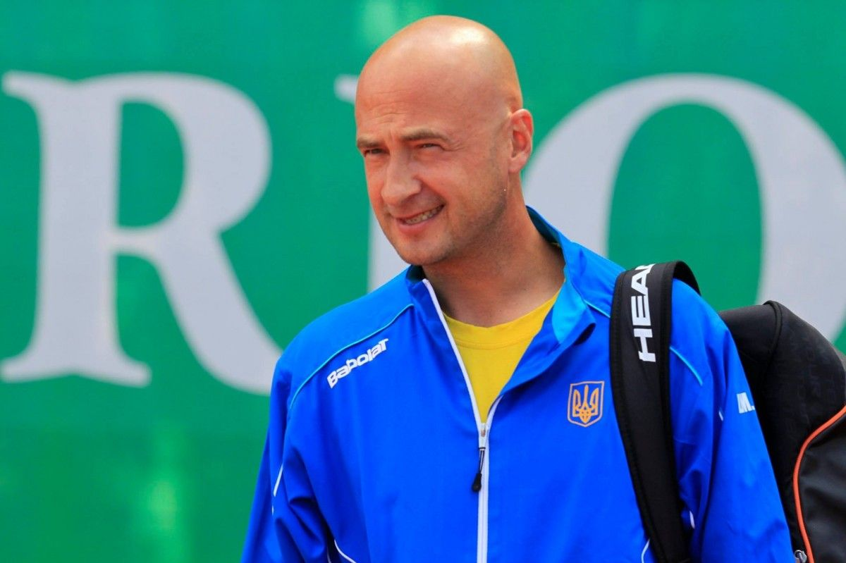 Андрей Медведев стал 10-м командиром сборной Украины вКубке Дэвиса