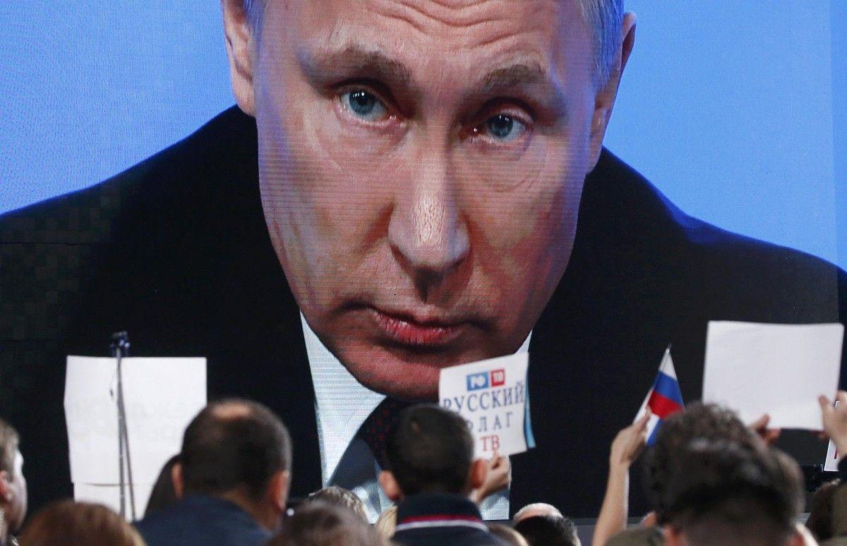 Пресс-конференция Путина / REUTERS