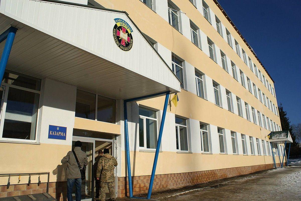 На Львовщине обустроят казармы, которые будут отвечать стандартам НАТО
