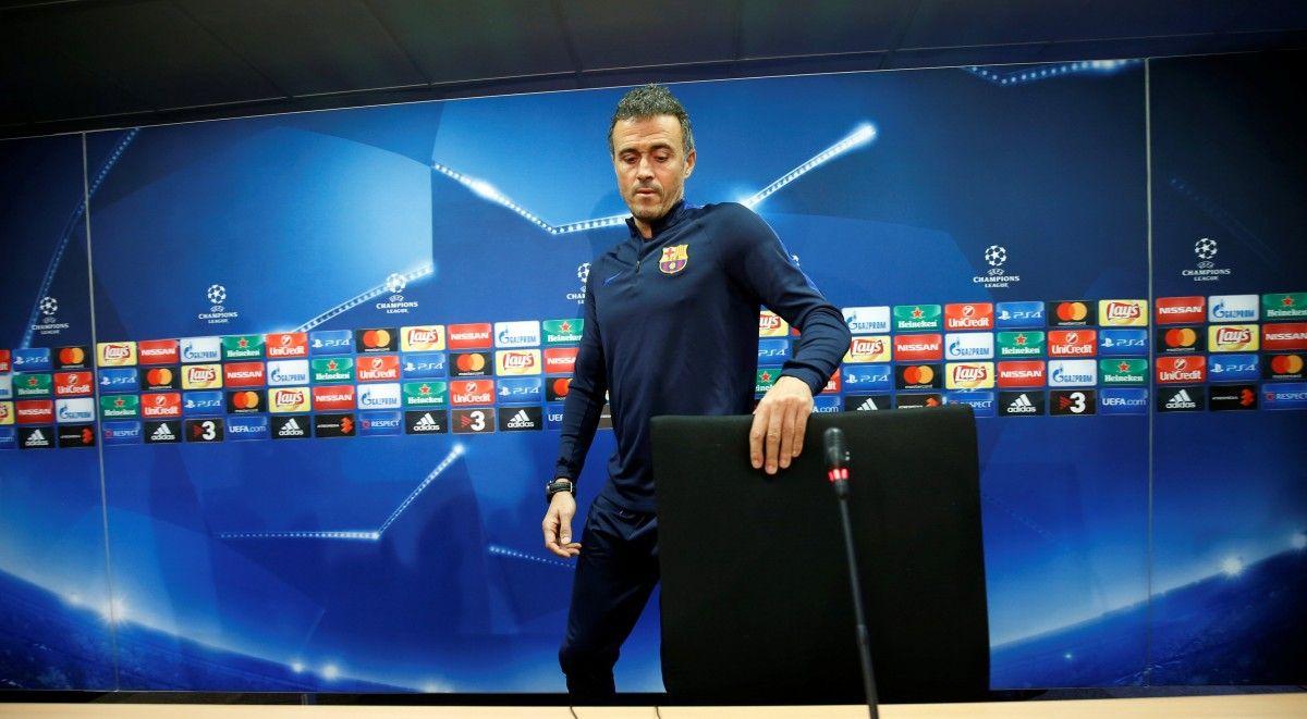 Энрике: невижу себя вдругом месте, кроме «Барселоны»