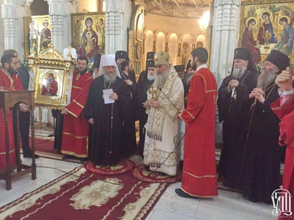 Патриарх Грузии идет напоправку