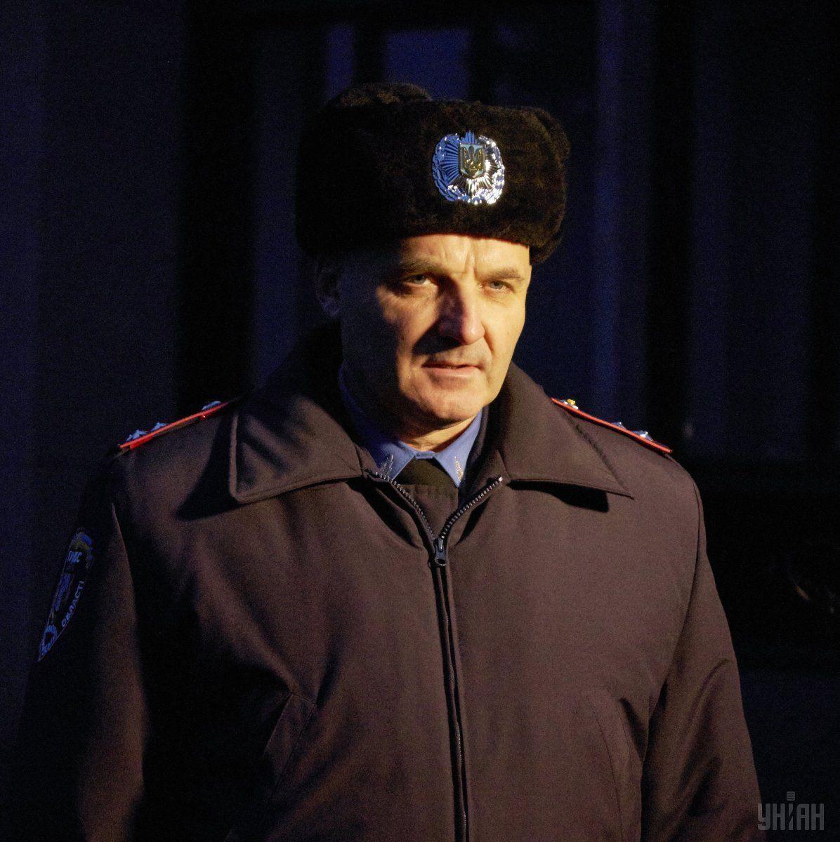 Валерия Лютого «секретно» назначили управляющим милиции Черкасщины, невзирая напротесты