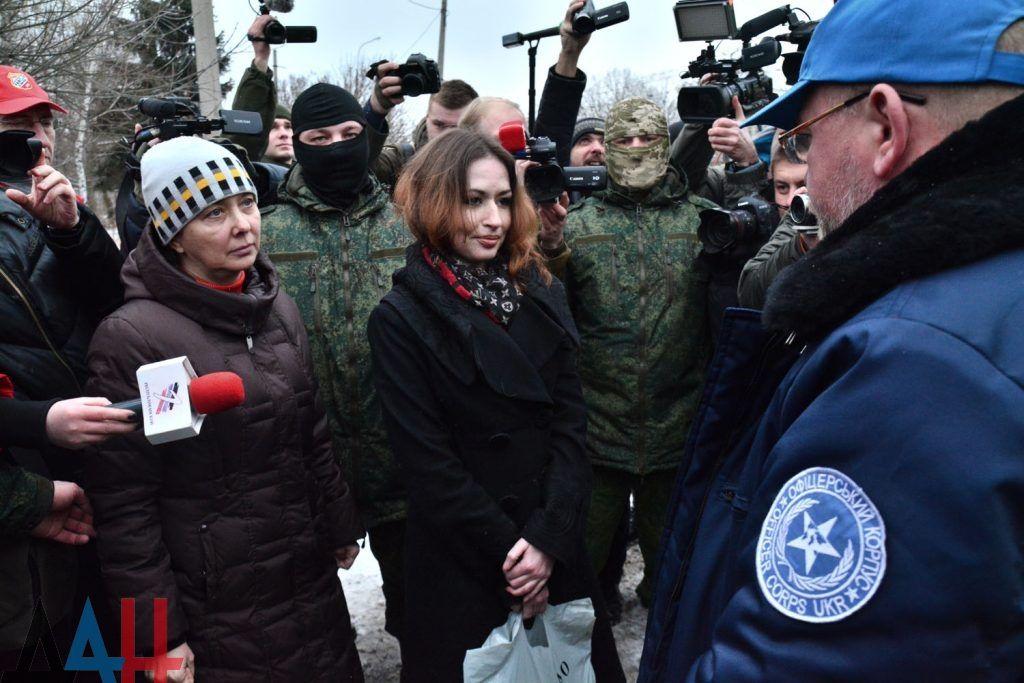 Україні передали двох полонених жінок / Сайт бойовиків