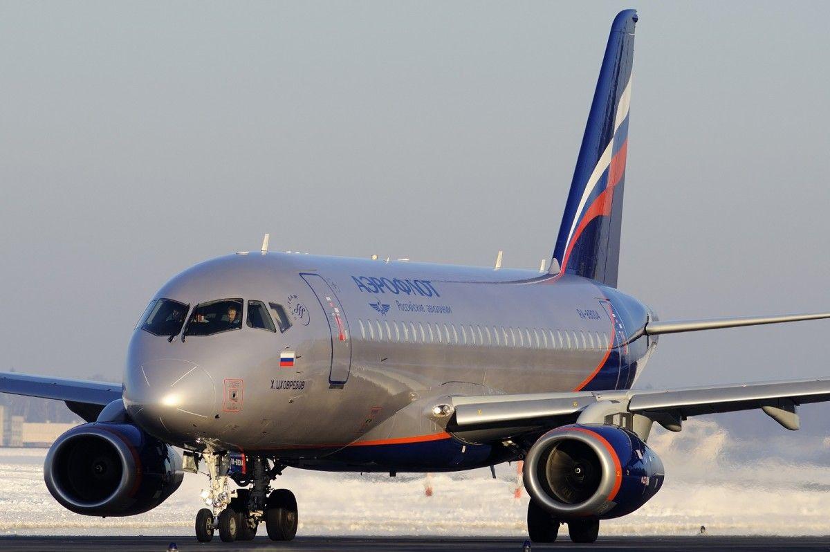 Авиалинии Мексики остановили полеты Superjet 100