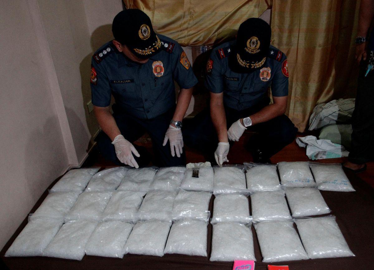 Власти Филиппин изъяли крупнейшую вистории страны партию наркотиков