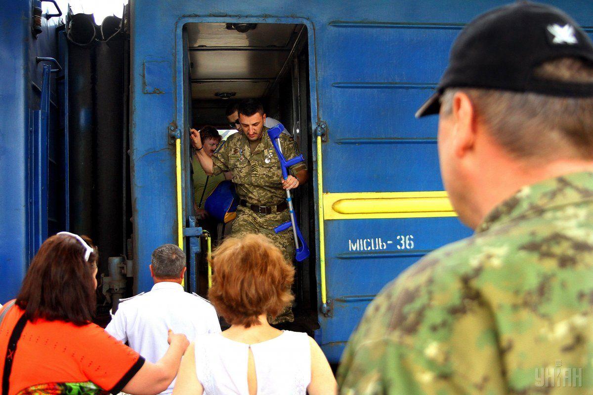 Реабилитация финансируется за средства Минобороны Эстонии / Фото УНИАН