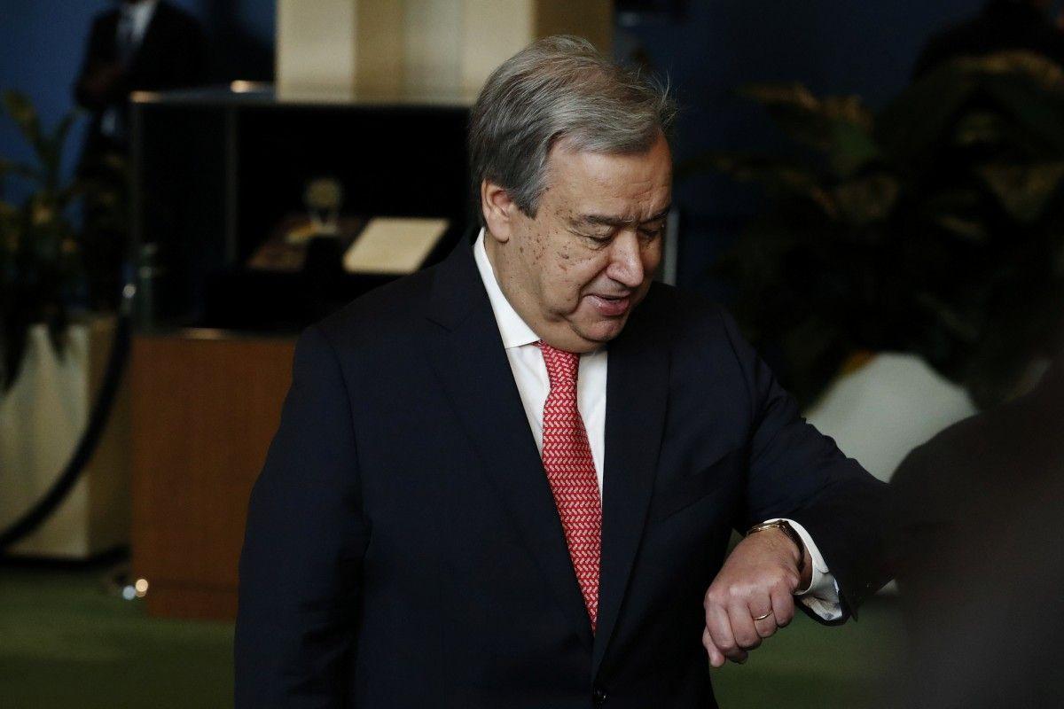 Антоніу Ґутерріш / REUTERS