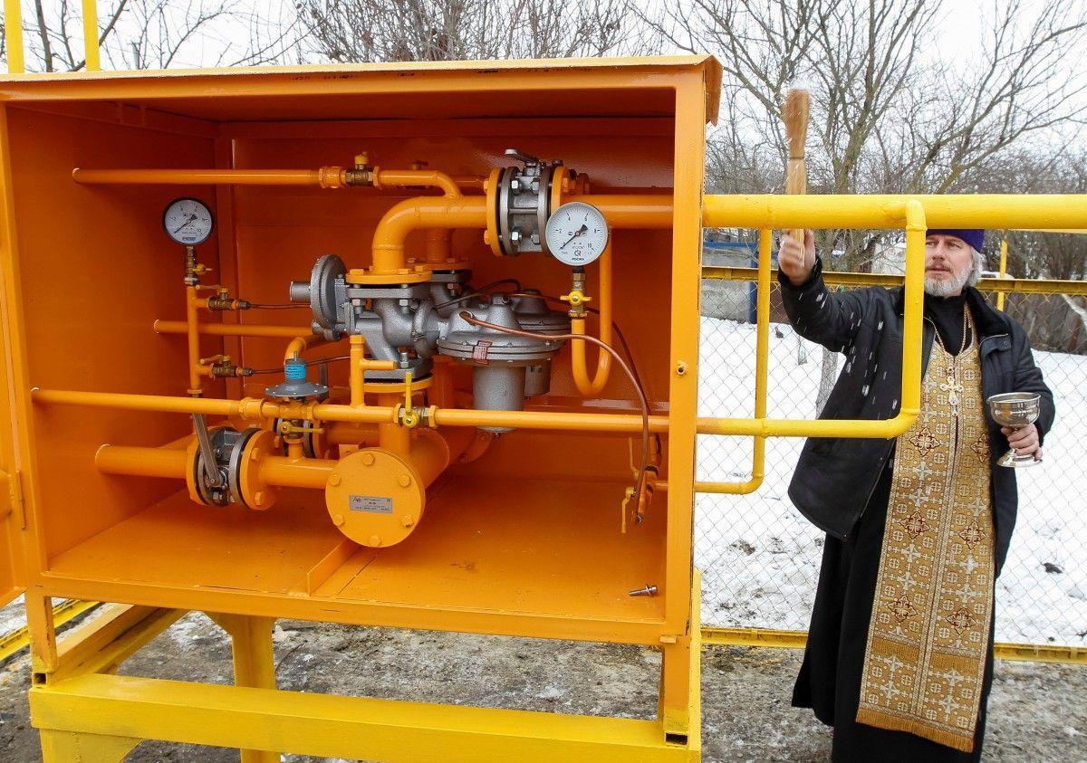 Загод вУкраинском государстве неменее чем на15% уменьшились запасы газа