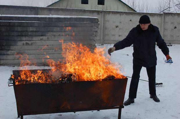 ВоЛьвове правоохранители сожгли наркотиков на млн. грн