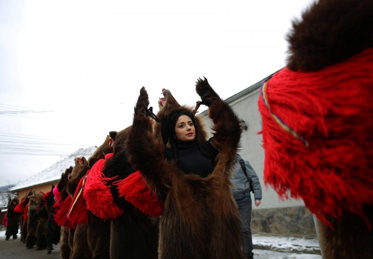 Парад у Коменешті / REUTERS