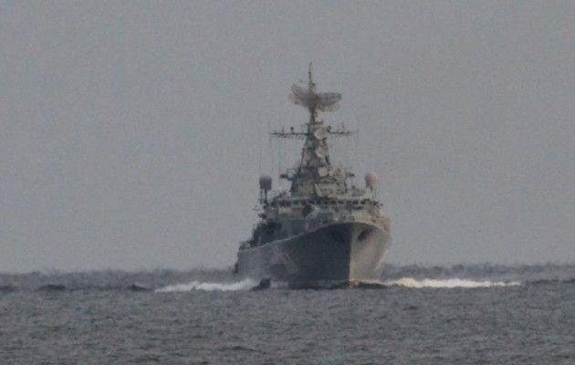 Таможенники зафиксировали нарушениеРФ интернационального морского права