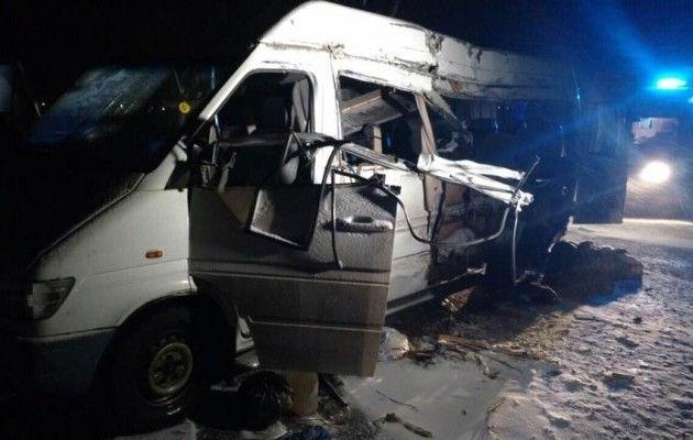 Стали известны подробности ДТП вДнепропетровской области, вкотором погибли 5 человек