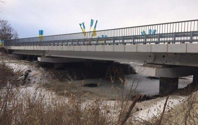 ВСеверске восстановлен уничтоженный боевиками при отступлении мост