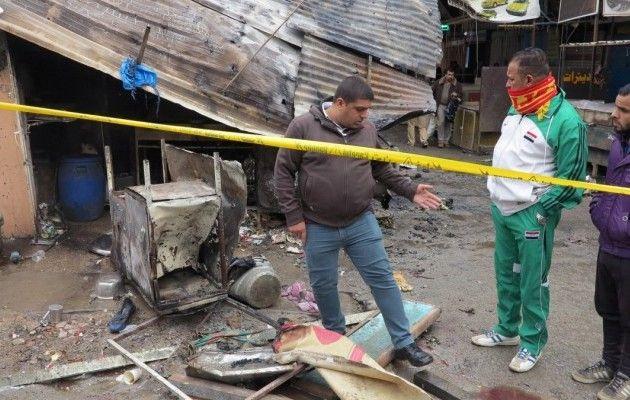 Встолице Ирака прогремел мощнейший взрыв