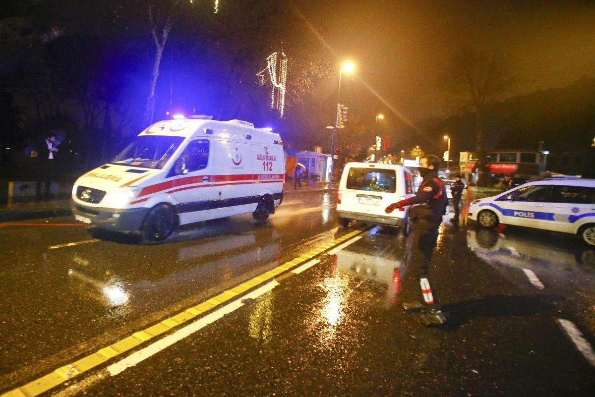 Десятки людей были убиты вСтамбуле при нападении наночной клуб