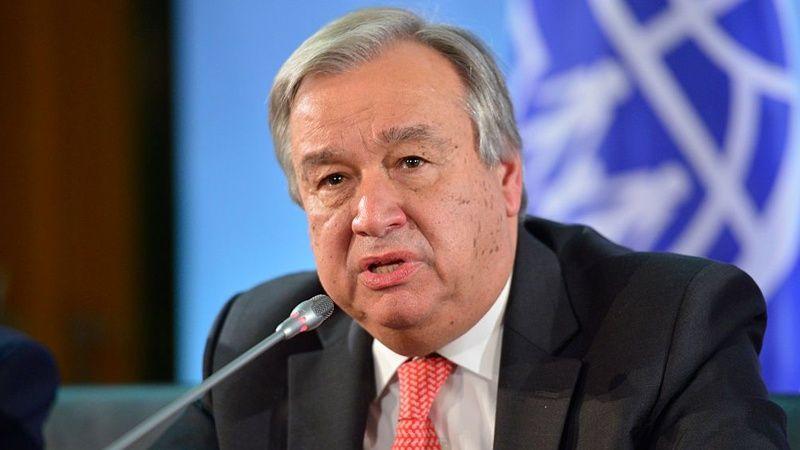 Новый генеральный секретарь ООН Антониу Гутерреш вступает вдолжность 1января