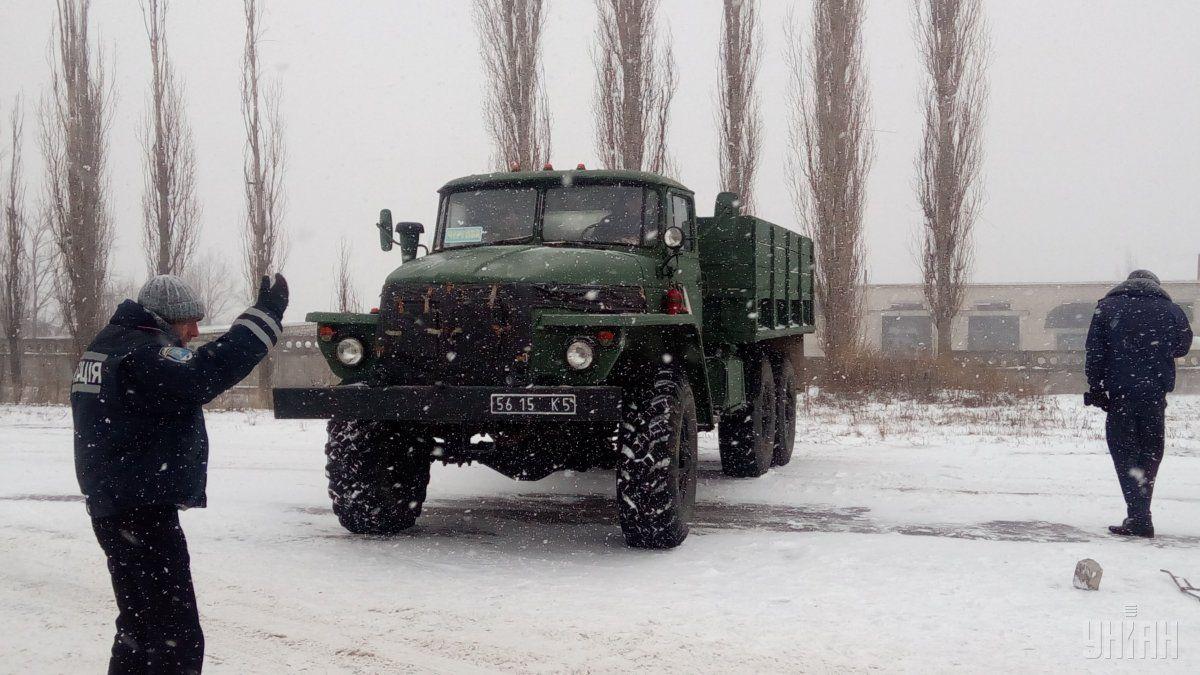 Разрешено движение подорогам Кировоградщины, еще вчетырех областях ограничения продлили