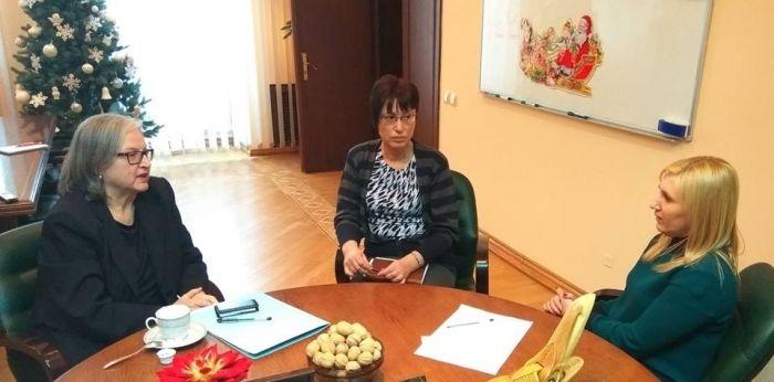 Голова Держлісагентства зустрілася з послом Австрії в Україні