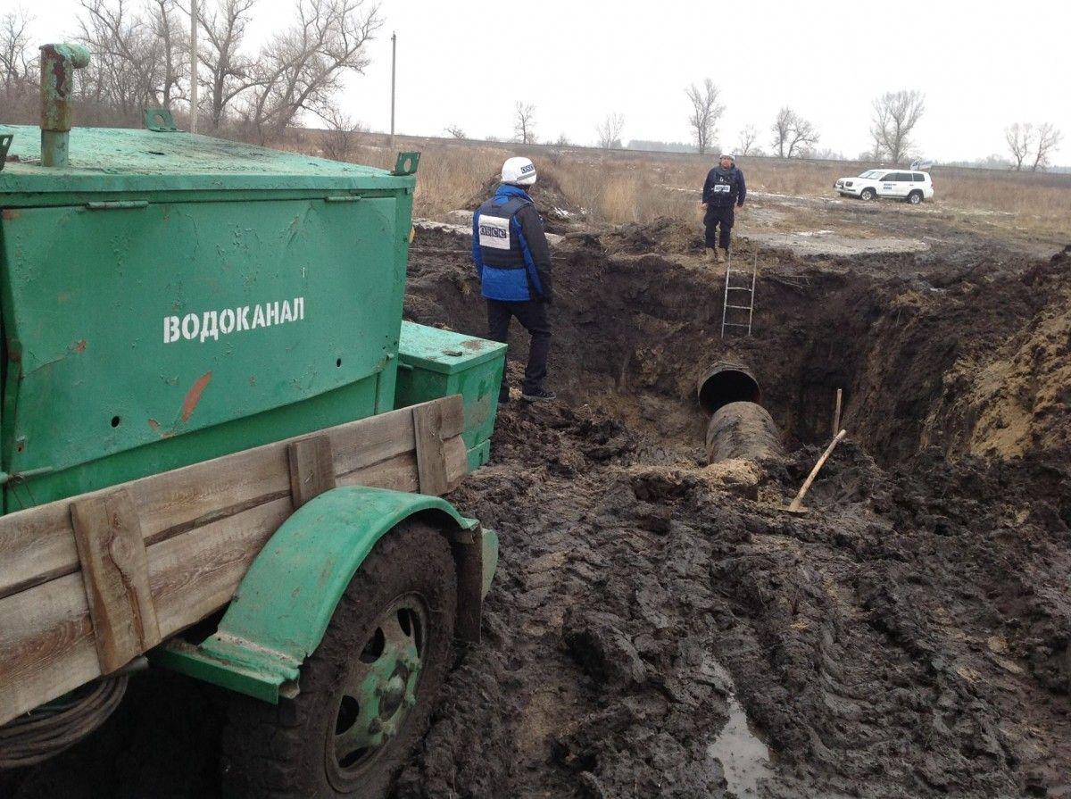 На Луганщине 250 тысяч человек остались без воды - ОБСЕ