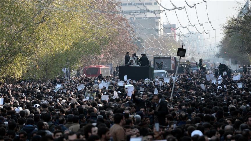 Встолице Ирана прошла антироссийская акция— Anadolu