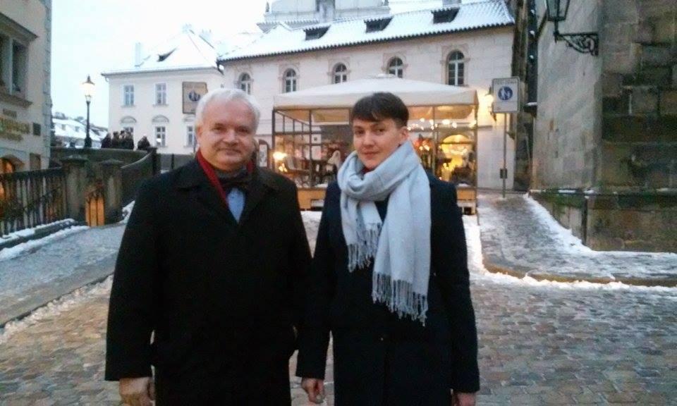 Савченко находится в Чехии / facebook.com/Savchenko.Nadiia
