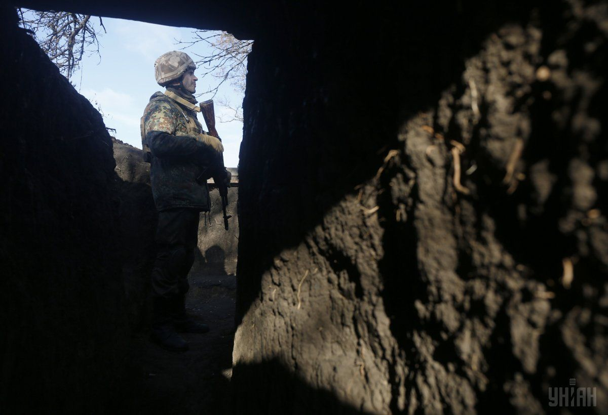 Військові зайняли нові позиції на Світлодарській дузі / Фото УНІАН