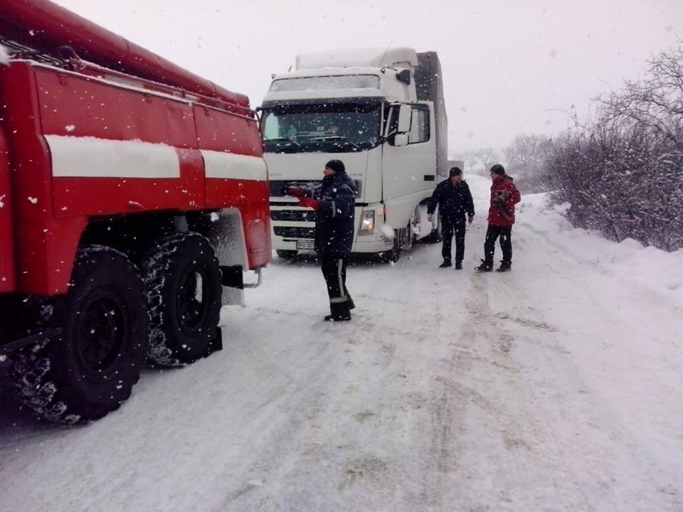 ВОдесской области сохраняется запрет надвижение транспорта— ГСЧС