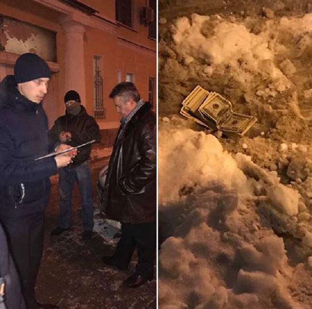 Задержание Головатюка / facebook.com/LlutsenkoYuri