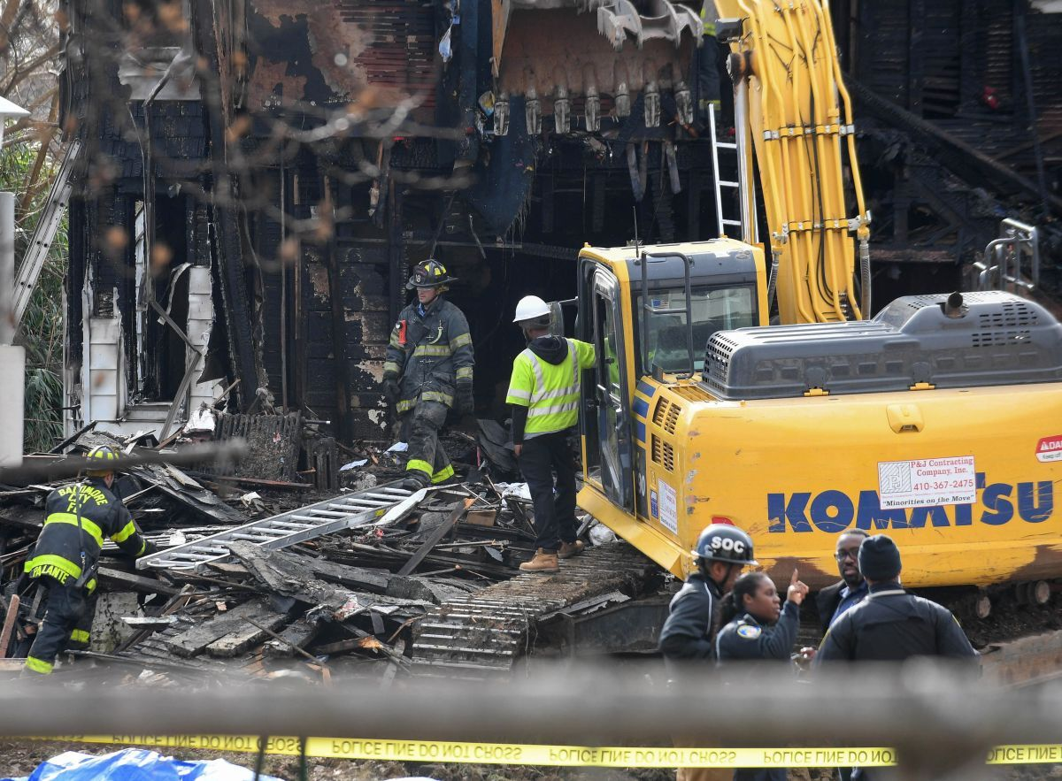 ВСША впроцессе пожара погибли шестеро детей