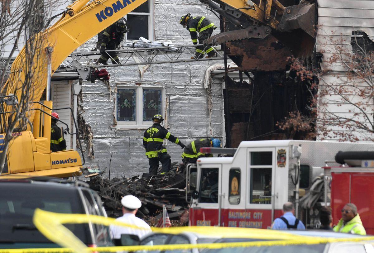 Вамериканском Балтиморе пятеро детей погибли впроцессе пожара