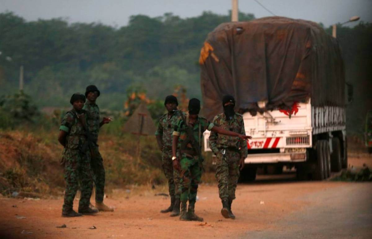 Бунтующие бойцы окружили город Буаке вКот-д'Ивуаре