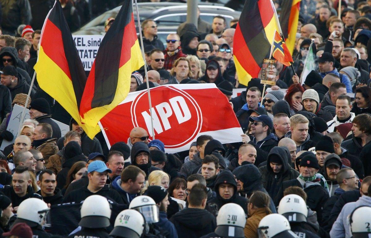 Конституционный суд Германии отвергнул иск озапрете ультраправой партии