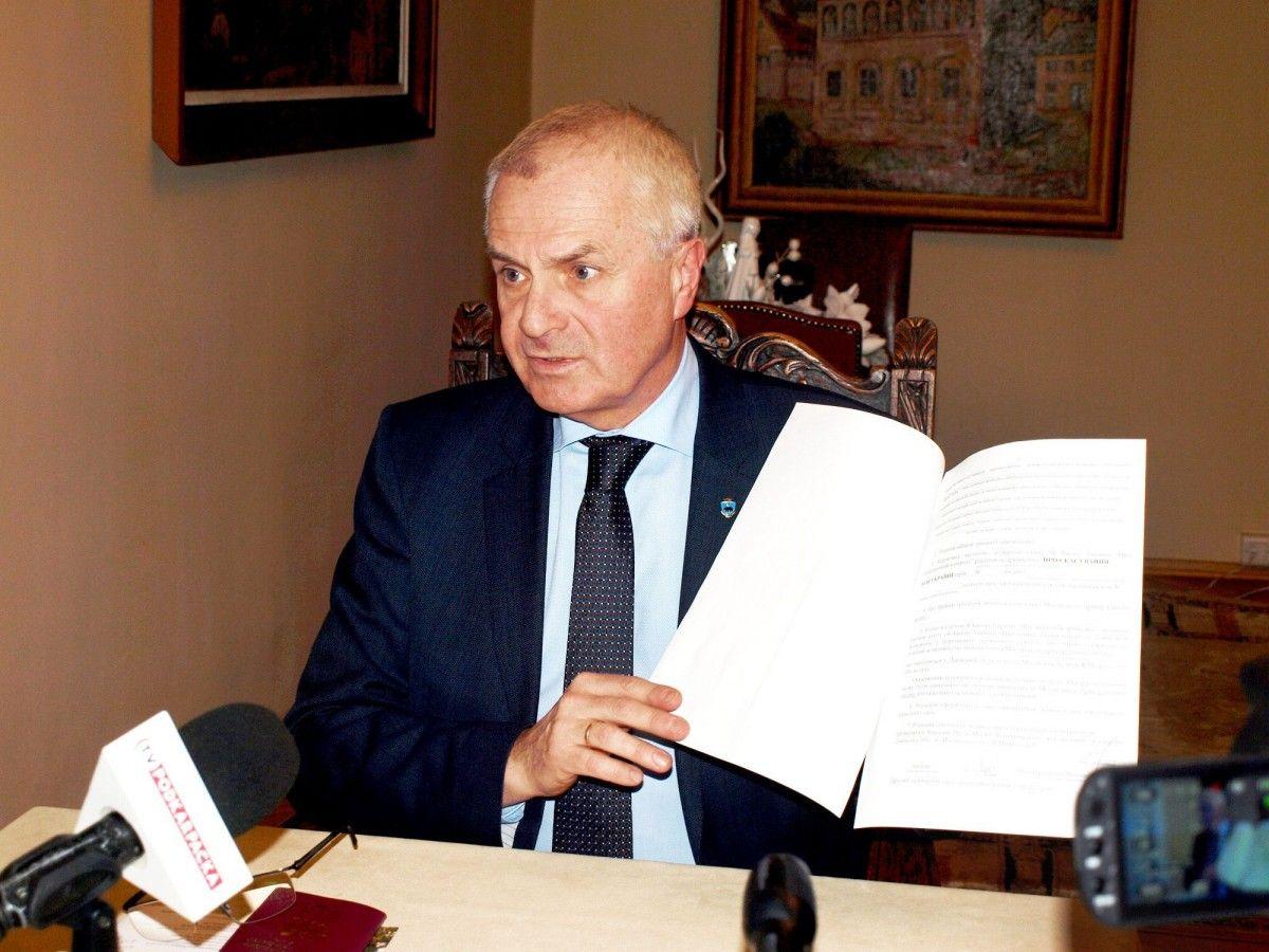 Мэр польского Перемышля оказался личностью нон-грата вУкраинском государстве
