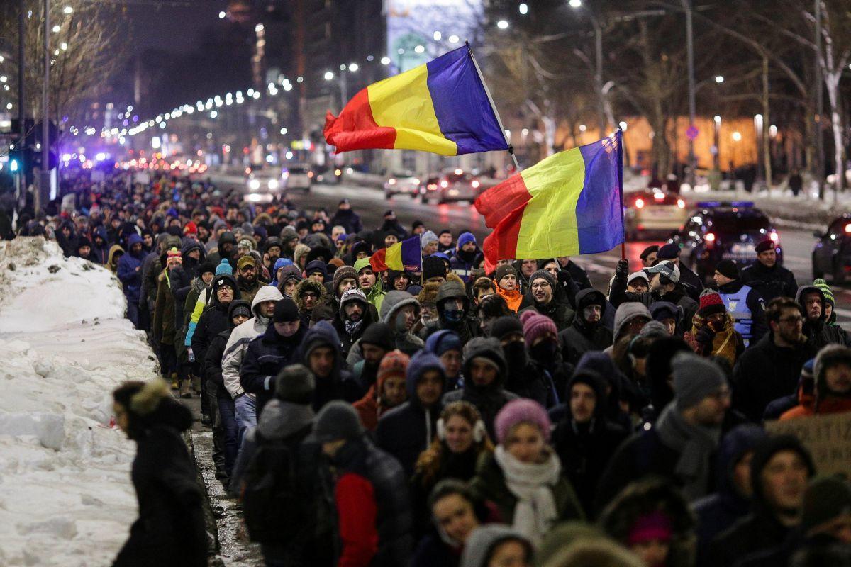 ВРумынии прошли акции протеста против планов руководства