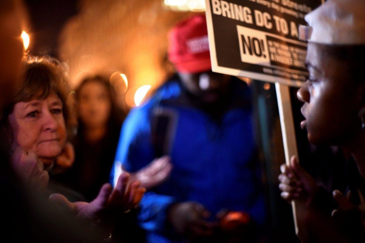 Задержанным впроцессе инаугурации Дональда Трампа угрожает до10 лет тюрьмы